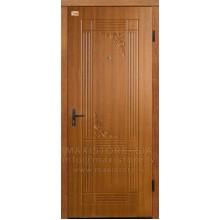 Металлическая дверь с отделкой MDF FIESTA (Золотистый Дуб)