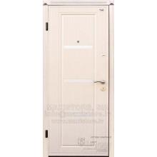 Metāla durvis ar MDF apdari VENA (Venge balts)