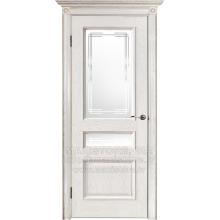 Дверной комплект ВЕНА O цвет Белая патина