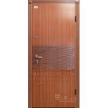 Metāla durvis ar MDF apdari Wave (Zeltainais Ozols Patina)