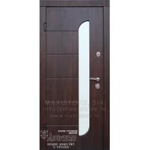 Metāla durvis ar MDF apdari Flamenco