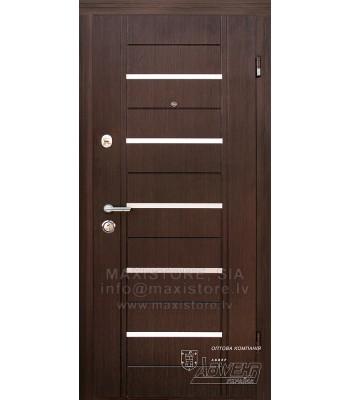 Металлическая дверь с отделкой MDF Alesto (Венге)