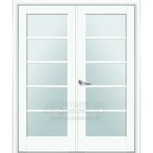 MUZA-X2 durvju komplekts (PVC EKO FINIERĒJUMS)