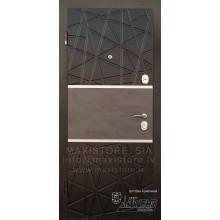 Metāla durvis ar MDF apdari Deinna (Venge/Venge gaiša)
