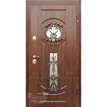 Metāla durvis ar MDF apdari SIMONA (Zeltainais Ozols patina)
