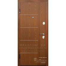 Metāla durvis ar MDF apdari Lenora (Zeltainais Ozols)