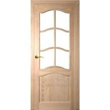 SIMPATIJA durvju komplekts (ar stikla vietu)