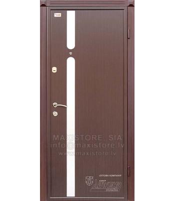 Металлическая дверь с отделкой MDF ARABIKA (Венге)