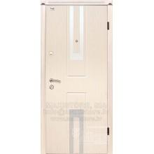 Металлическая дверь с отделкой MDF ESTILO (Венге белый)