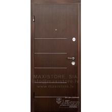 Metāla durvis ar MDF apdari Felisia (Venge)