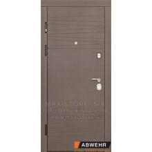 Metāla durvis ar MDF apdari Brunella