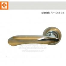 Durvju rokturis  AH1061-78 (matētais hroms+niķelis)