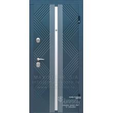 Металлическая дверь с отделкой MDF Largo