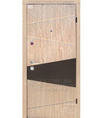 Металлическая дверь с отделкой MDF BOGEMA S