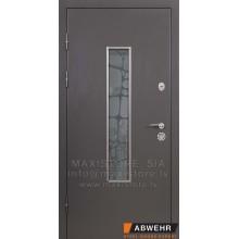 Metāla durvis ar MDF apdari Defender