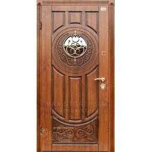 Metāla durvis ar MDF apdari LUCK (Zeltainais Ozols patina)