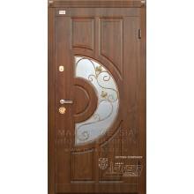 Metāla durvis ar MDF apdari KAMELIA (Tumšais Ozols)
