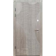 Metāla durvis ar MDF apdari SAMIRA