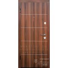 Metāla durvis ar MDF apdari Kardea