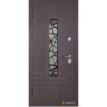 Metāla durvis ar MDF apdari Armad