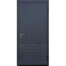 Metāla durvis ar MDF apdari Sophit-A