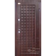 Metāla durvis ar MDF apdari OGRE (Tumšais rieksts)