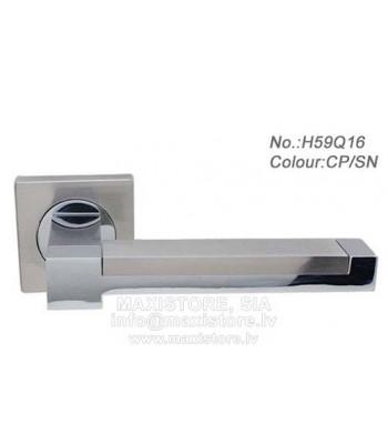 Durvju rokturis H590Q16 CP/SN