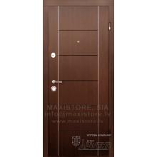 Metāla durvis ar MDF apdari Deleria (Venge)