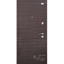 Metāla durvis ar MDF apdari KAPRIZ (Venge patina)