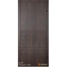 Metāla durvis ar MDF apdari Miriel