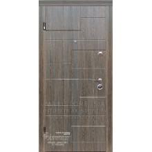 Metāla durvis ar MDF apdari Milada