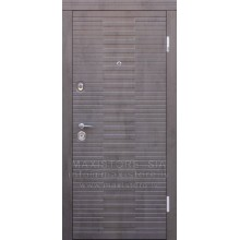 Metāla durvis ar MDF apdari Paloma
