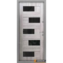 Metāla durvis ar MDF apdari  DOMINIKA