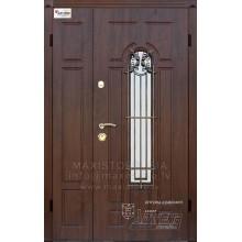 Metāla durvis ar MDF apdari ARTEMIDA 1200x2050 (Tumšais ozols)