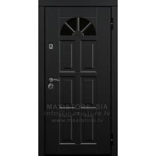 Metāla durvis ar MDF apdari Fountain (CT)