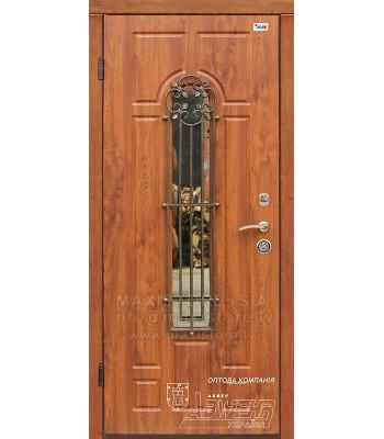 Металлическая дверь с отделкой MDF ARTEMIDA-S (AP1) (Золотой Дуб)