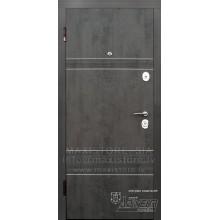 Metāla durvis ar MDF apdari Louna