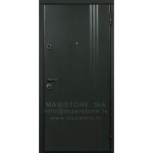 Metāla durvis ar MDF apdari Lineja-2