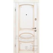 Metāla durvis ar MDF apdari Ilona (Krāsoti paneļi)