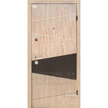 Metāla durvis ar MDF apdari BOGEMA S