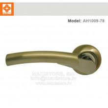 Durvju rokturis  AH1009-78 (matētais hroms+niķelis)