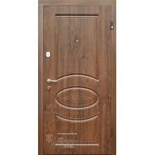 Metāla durvis ar MDF apdari Giselle (Tumšais ozols)