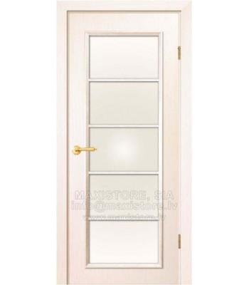 Modena Kristal durvju komplekts krāsa Balināts Osis