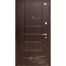 Metāla durvis ar MDF apdari N54 (Rieksts) 86 Laba