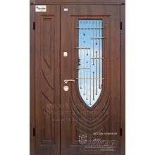 Metāla durvis ar MDF apdari LETIZIA 1200x2050 (Tumšais ozols)