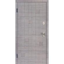 Metāla durvis ar MDF apdari Forte