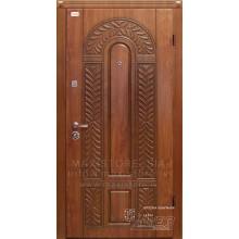 Metāla durvis ar MDF apdari Florina (Zeltainais Ozols patina)