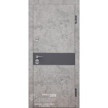 Metāla durvis ar MDF apdari Adella