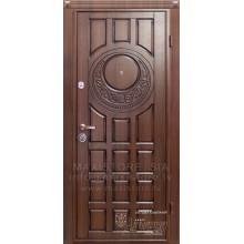 Metāla durvis ar MDF apdari Silvia (Rieksts Ozols patina)