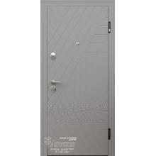 Metāla durvis ar MDF apdari Mirta